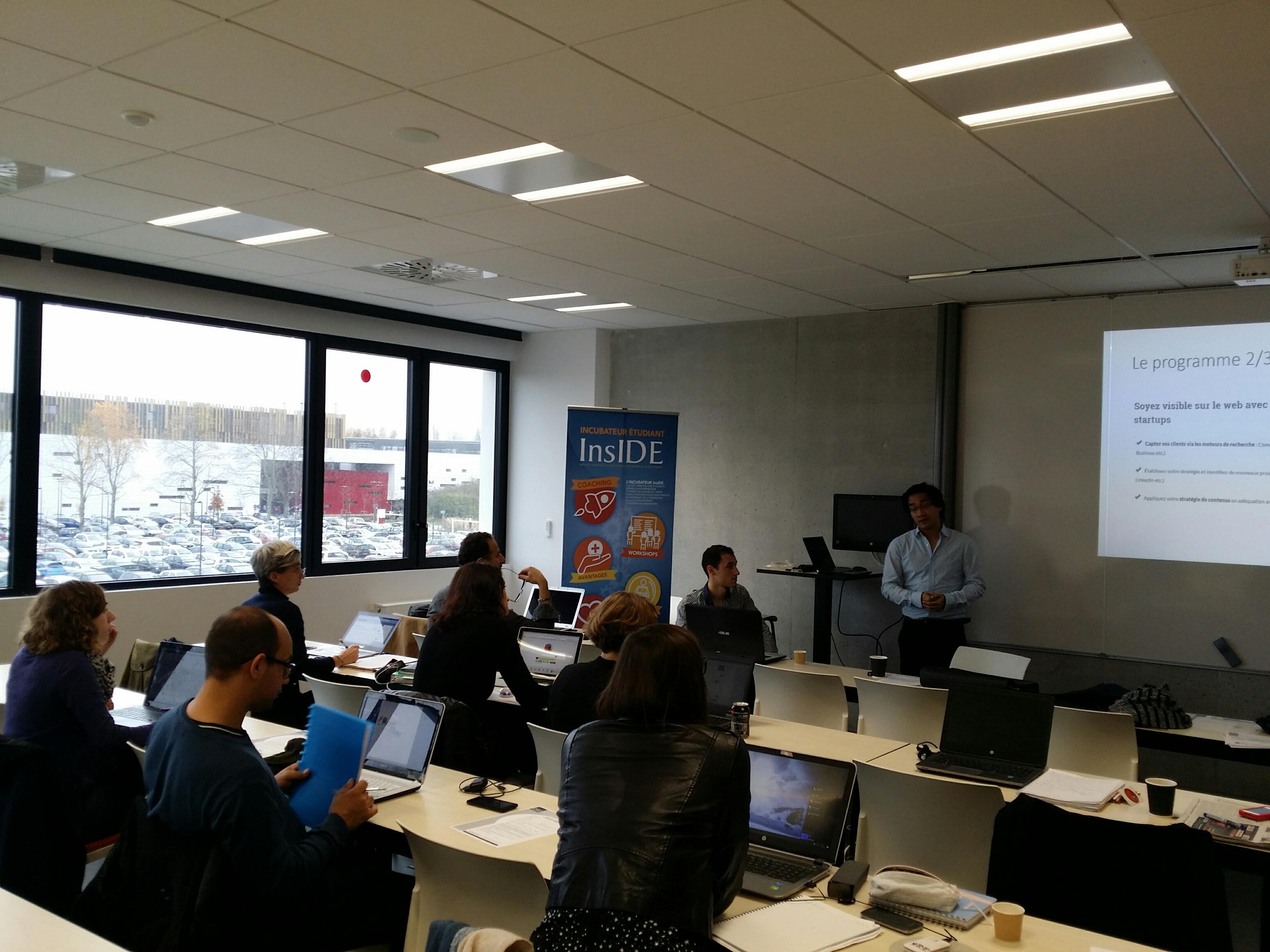Bootcamp Web InsIDE : 3 jours pour se former et repartir avec son site web !
