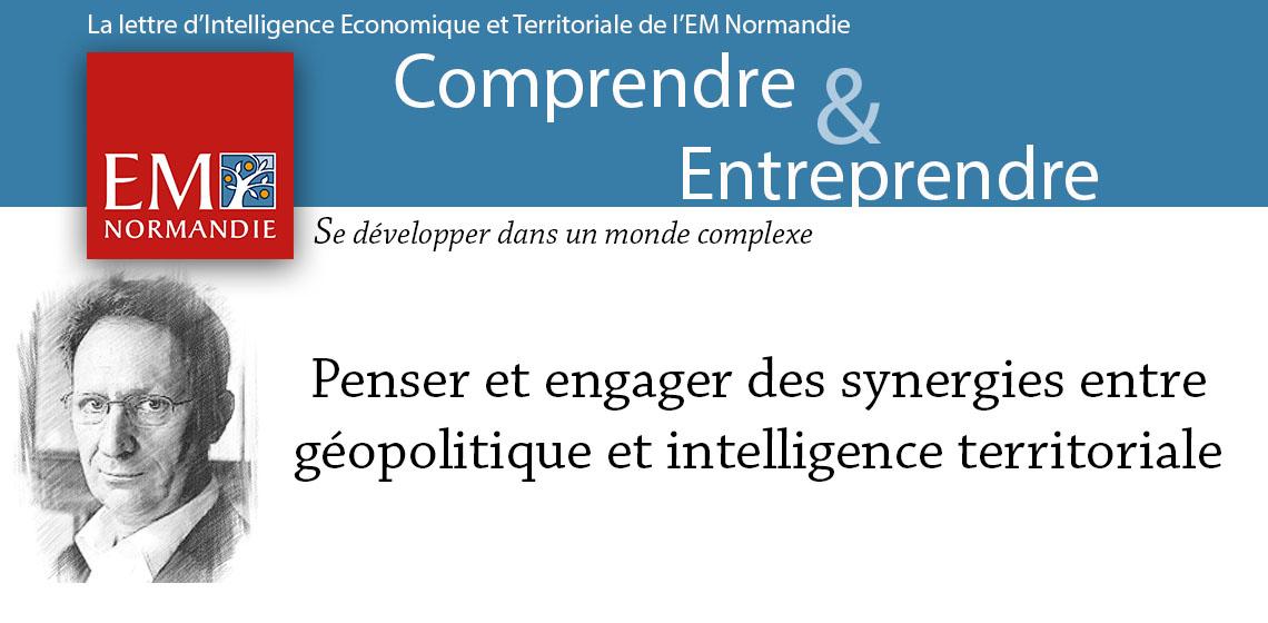 Photo : Pierre Verluise : Penser et engager des synergies entre  géopolitique et intelligence territoriale