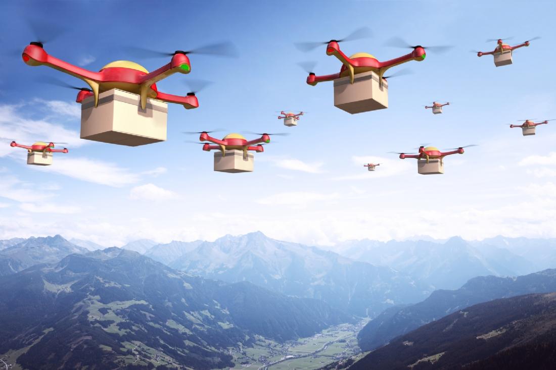 Livrer par drones : les entreprises sont-elles prêtes ?