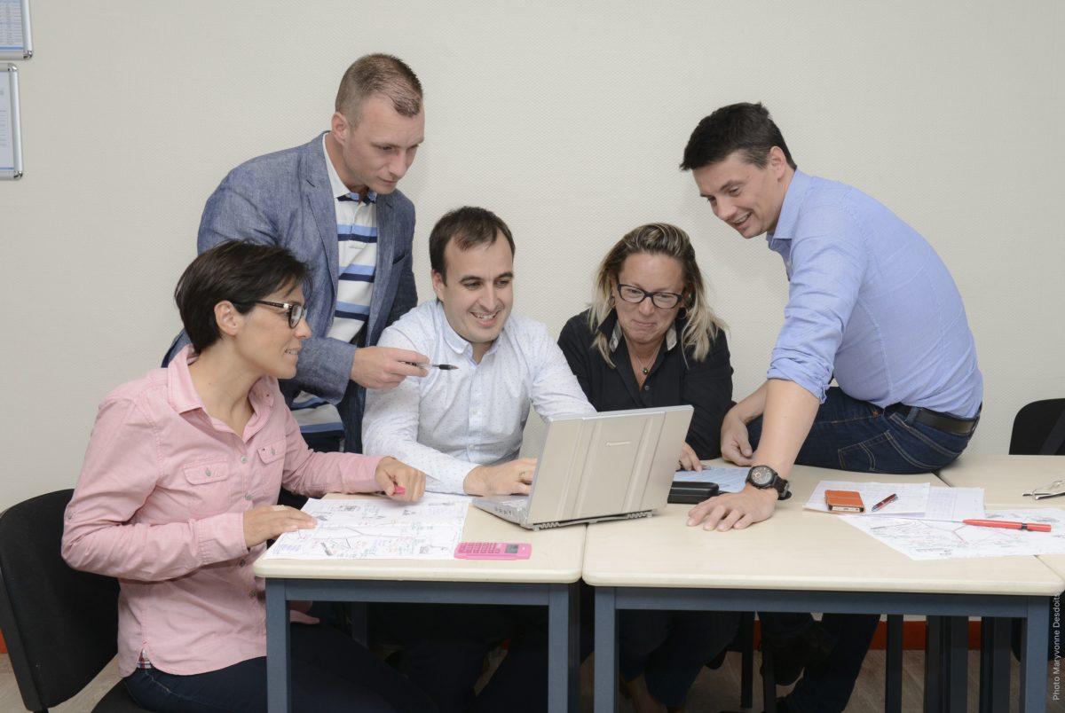 Photo : Une réforme de la formation ancrée dans les pratiques de travail contemporaines