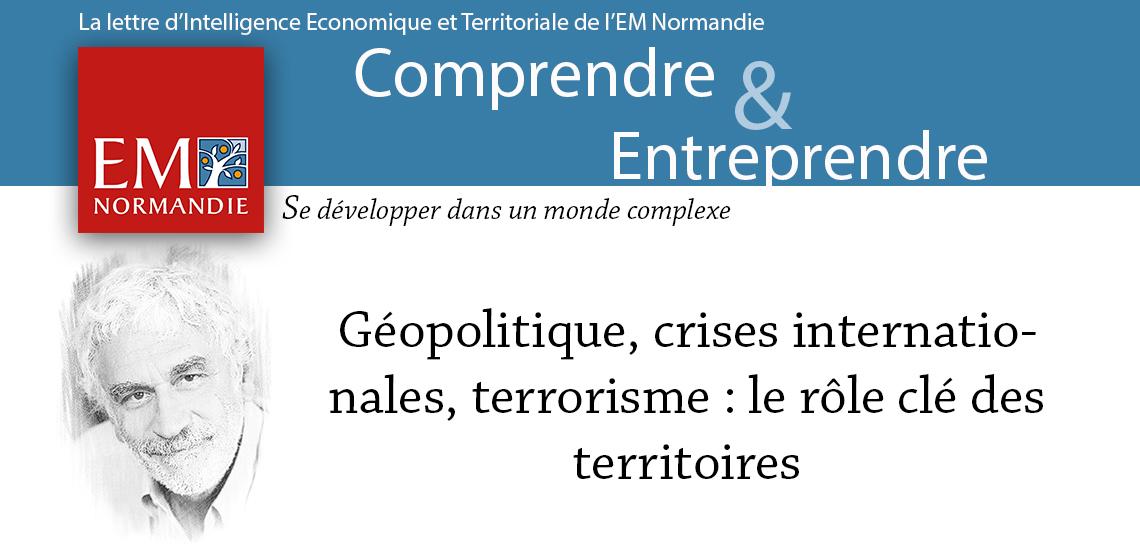 Photo : Pierre Conesa : Géopolitique, crise internationale, terrorisme : le rôle-clé des territoires