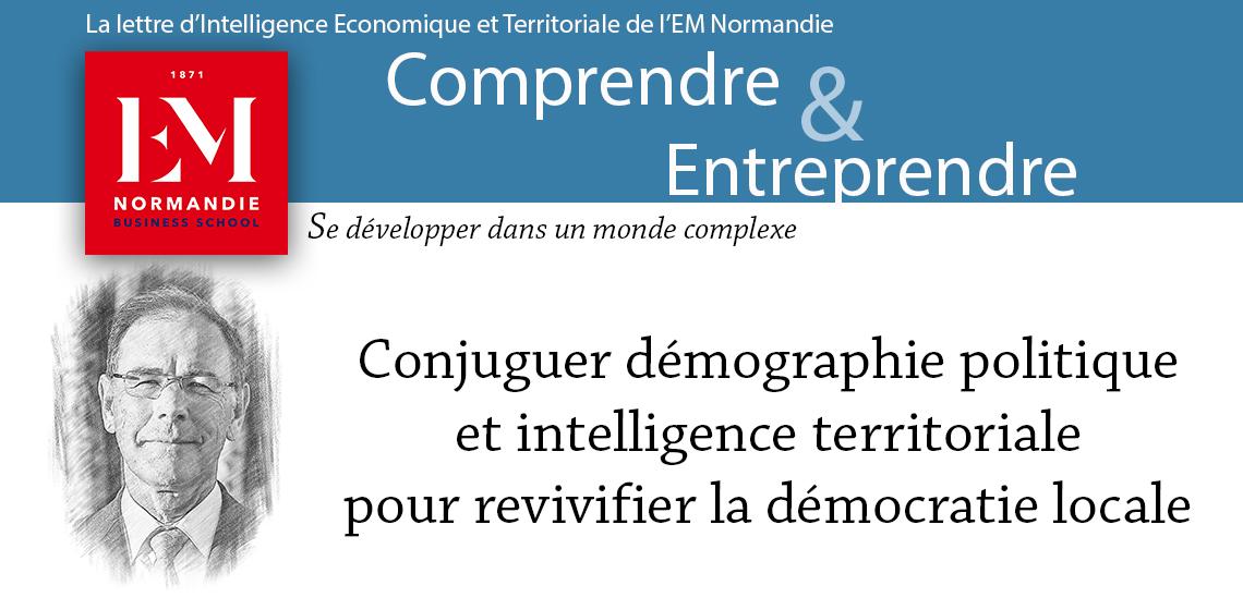 Photo : Gérard-François Dumont : Conjuguer démographie politique et intelligence territoriale pour revivifier la démocratie locale