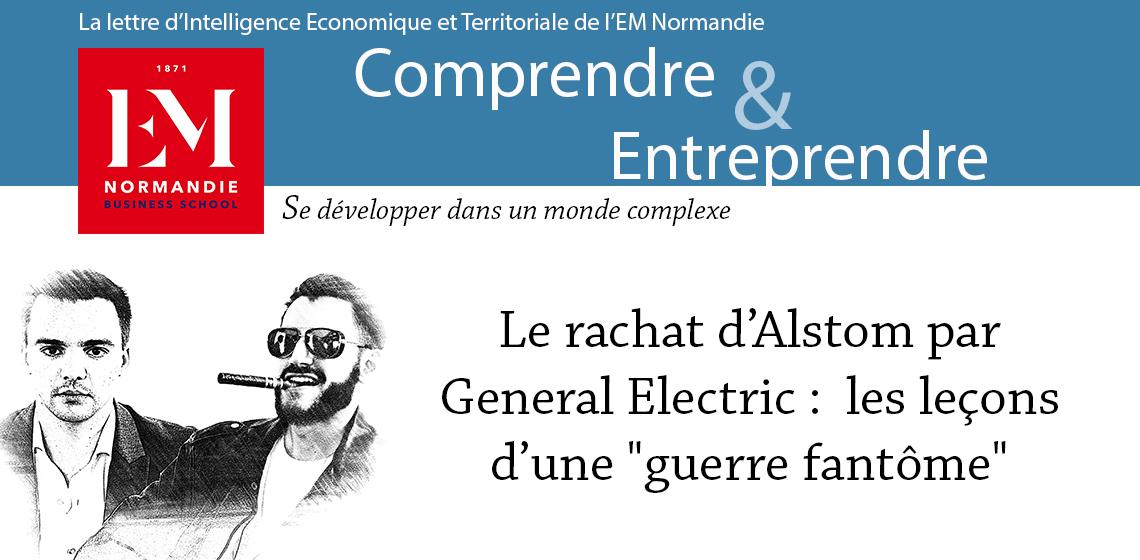 Photo : David Gendreau et Alexandre Leraître : Le rachat d'Alstom par General Electric, les leçons d'une