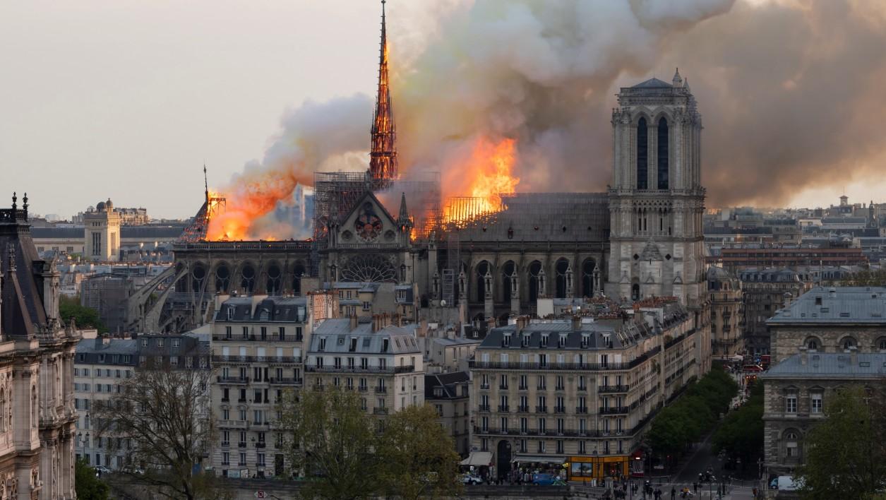Incendie Notre Dame