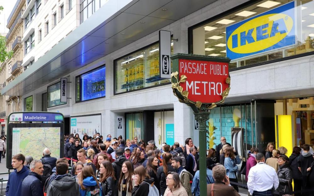 Photo : Ikea et les géants de la distribution peuvent-ils sauver les centres-villes ?