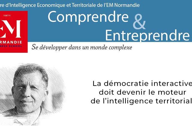 Photo : Jacques Lévy : La démocratie interactive doit devenir le moteur de l'intelligence territoriale