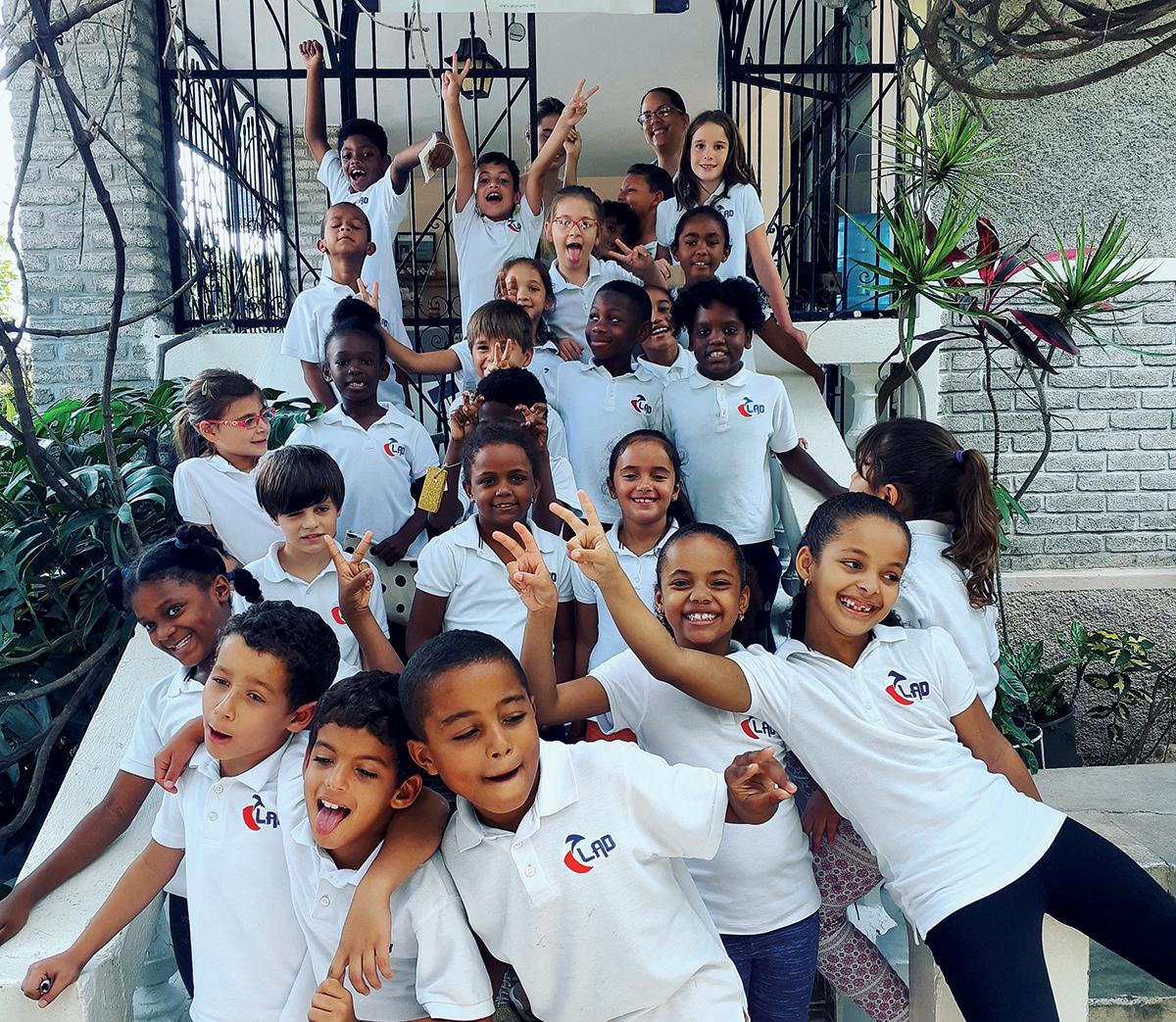 Laurence Auzary en Haïti