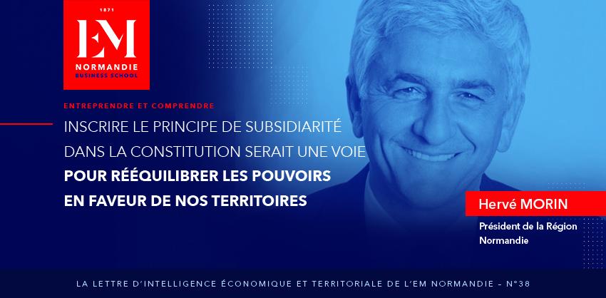 Photo : Inscrire le principe de subsidiarité dans la constitution serait une voie pour rééquilibrer les pouvoirs en faveur de nos territoires